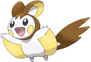 Shiny Emolga by Misha1998