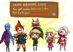 Happy birfday to my twin by Fullmetalsasukefreak