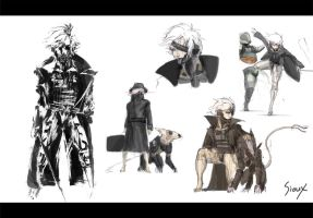 Metal Gear Rising: Trench Coat Raiden by Kimi-the-Sioux
