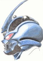 Guyver Colored pencil by guyver-club