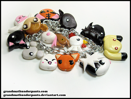 Fruits Basket Zodiac Bracelet Remake by GrandmaThunderpants