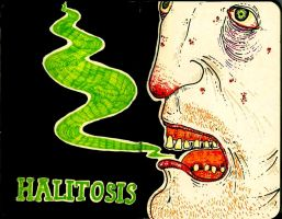 Halitosis by four-thousand