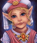 Little Hylian Princess by Sarky-Sparky