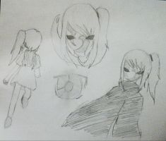 DTB OC Rei - Sketches by abbey1010