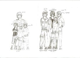 Team 5 - Before and During Shippuuden:. by Mala-chi