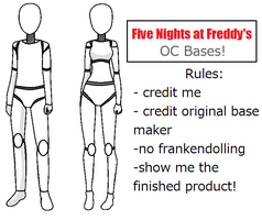 Five Nights At Freddy's OC Bases by Nerds-Need-Love