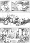 test page with a blow by cric