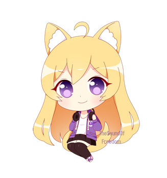 Chibi Commission 03 by TheSoundOfFreedom