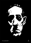 H.P. Lovecraft by DrFaustusAU