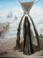 Hourglass by chechenartists