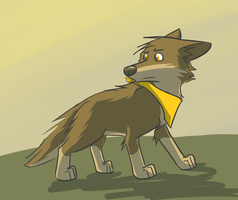 Random dog by LeeyFox