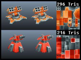 Turrets by s-h-a-n-k-s