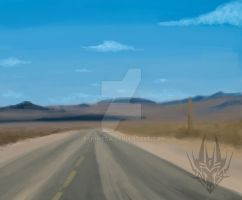 the loney road ... background by TaiOMega