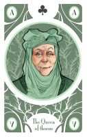 Game of Thrones' cards | Ace Olenna Tyrell by SimonaBonafiniDA