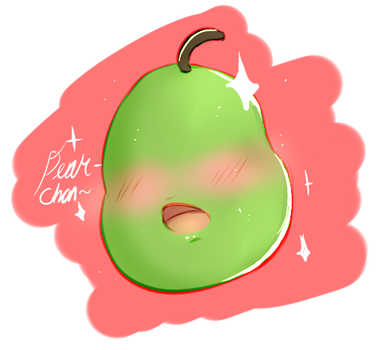 Pear-chan by Hyper-Paws