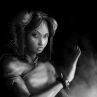 Chun Li -  Rest in Peace by BaderBadruddin