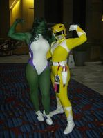 Me and Jessica at Dragon con by thebestshehulkfan