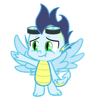 Soarin' - Baby Dragon by Charlockle
