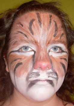 Bobcat Make-up by somethingreallycool
