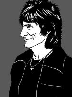 Ron Wood by Liko