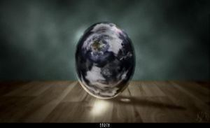 world egg by thecrass1