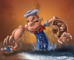 Popeye hates the competence by valhadar