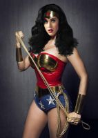 Katy Perry Wonder Woman Cosplay (Birthday Morph) by TFLOVER28