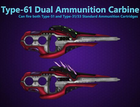Type-61 Dual Ammunition Carbine by HWPD