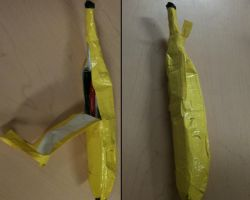 Duct Tape Banana Pencil Case by lordofthecod