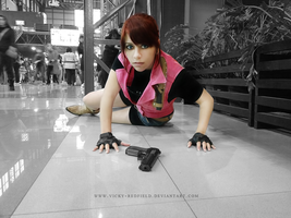 Claire Redfield cosplay by Queen-Stormcloak
