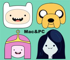 Adventure Time Icons! (Mac/PC) by aWhim
