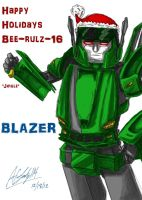 Xmas Gift 1 - Bee-Rulz-16 by afrolady114