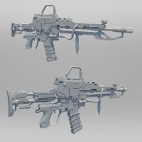Vypr Rifle by Psycho4140