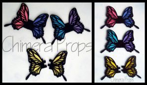 Vocaloid Butterflies by ChimeraProps