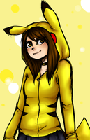 Pika!Selly by GlorieMarie