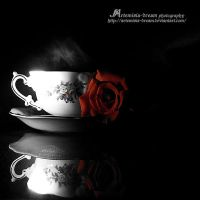 a cup of roses by Artemisia-dream