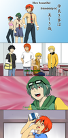 Daily Lives of Gijinka High School Boys by MaxVesta