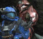 Uhze and Adrian by ODST934