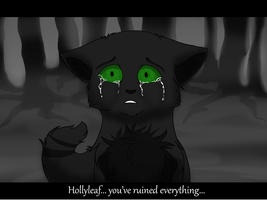 Hollyleaf~Quiet Like the Snow... by Fire-Loup