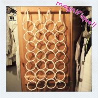 DIY belt and scarf rack by untitled512