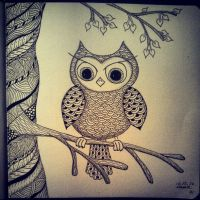 My Zendoodle 365-project, day 71 by Nadik