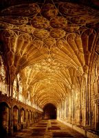 - Gothic Palace Architecture - by OMarienO