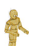 C3PO from memory by alr1c