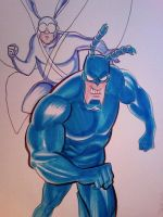 The Tick by danablackarts