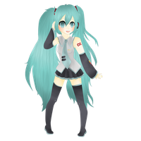 Hatsune Miku:: Fan Art by xxSelly