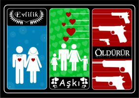 Marriage kills love... by leographics