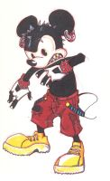 Mickey Mouse Badass Revamp by Loeobot
