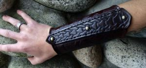 Viking bracer 2 by JoshSkaarup