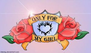 Only4MyGirl - drawing by klebsky