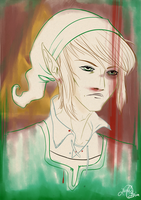 Advent Doodles Day 2 - Link by LOBrien